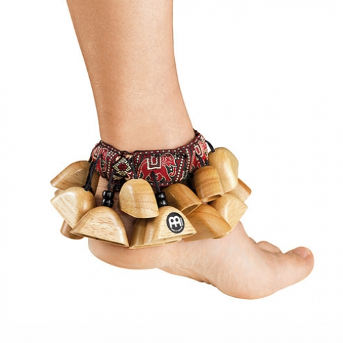 Meinl - 발목래틀 (Foot Rattle)  Rubber Wood  Natural  FR1NT