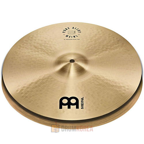 [드럼코리아 1599-3867] Meinl -  Pure Alloy Traditional Hi-Hat 하이햇 - PA14MH / PA15MH