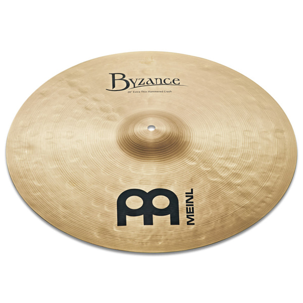 [드럼코리아 1599-3867]Meinl Byzance Traditional Extra Thin Hammered Crash 심벌 18인치 (B18ETHC) / 20인치 (B20ETHC)