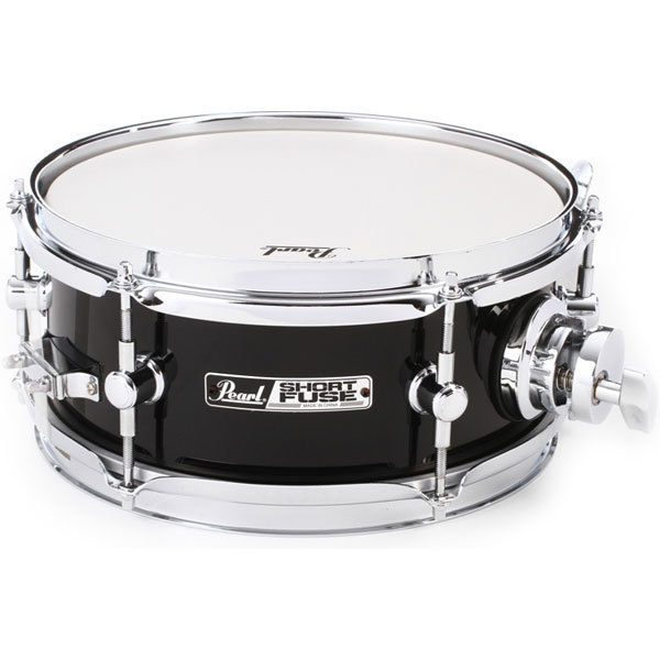 "[드럼코리아 1599-3867] Pearl Short Fuse Snare Drum with ISS Mount - 4"" x 10"" 펄 퓨즈 스네어"