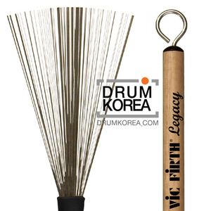 [드럼코리아 1599-3867] Vic Firth - Brushes and Rutes LB [Legacy Brush]