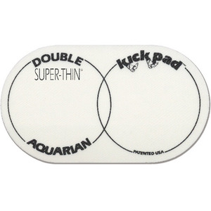Aquarian - SUPER THIN DOUBLE KICK PAD 비터/ 임팩트 패드 (STKP2)